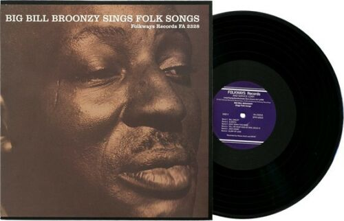 Big Bill Broonzy Sings Folk Songs Vinyl Lp