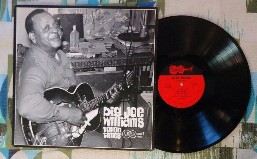 Big Joe Williams Tough Times Vinyl Lp
