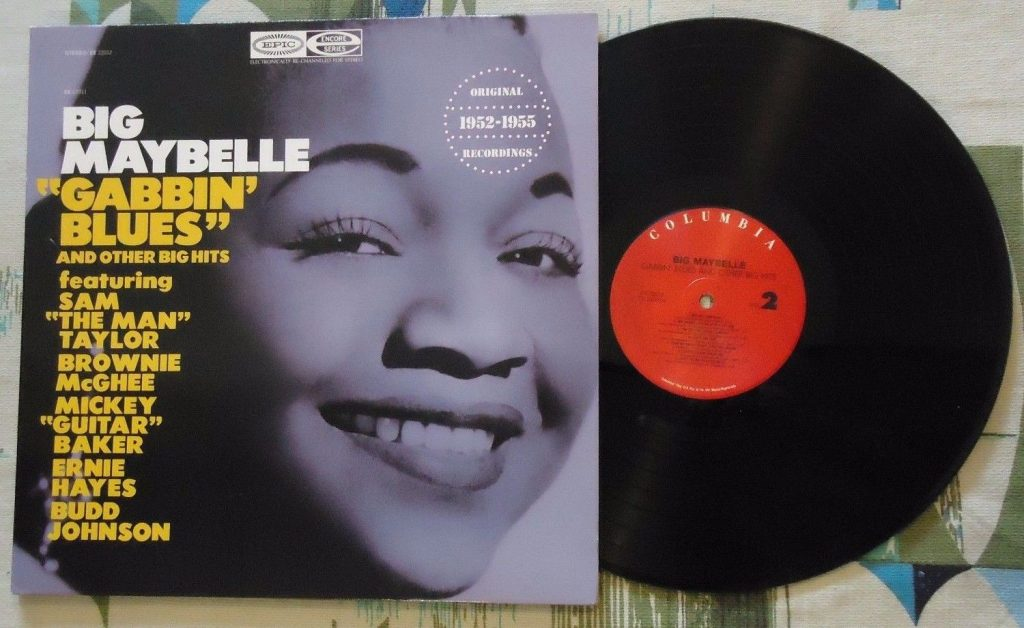 Big Maybelle Gabbin Blues Lp Vinyl
