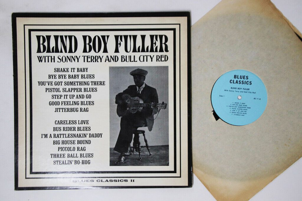 Blind Boy Fuller Lp Vinyl