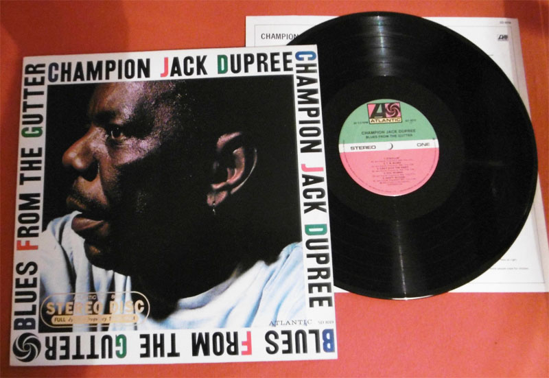Champion Jack Dupree Blues Gutter Lp Vinyl