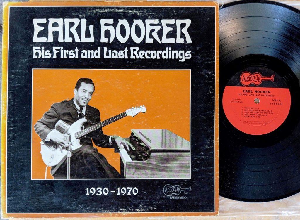 Earl Hooker Lp Vinyl Arhoolie Records