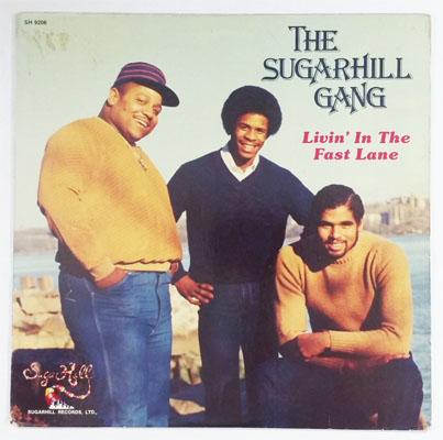 Sugarhill Gang Livin Fast Lane Vinyl Lp