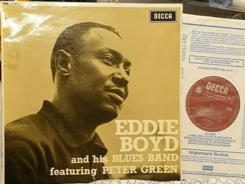Eddie Boyd Blues Band Peter Green Decca Lp