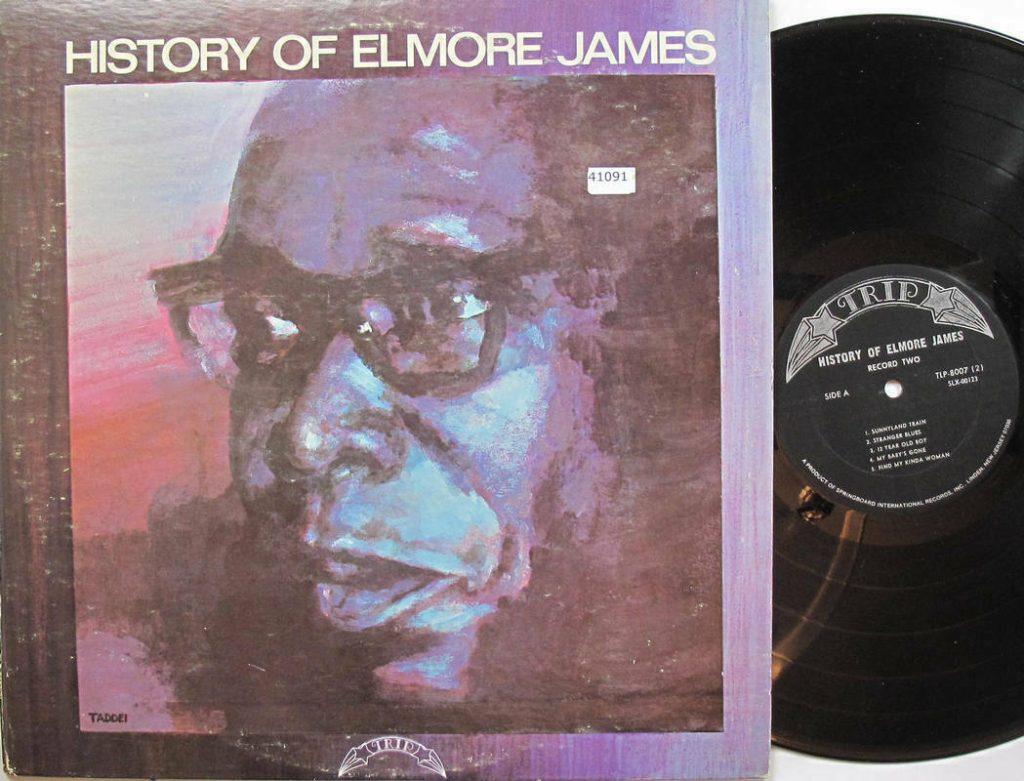 History Elmore James Vinyl Lp