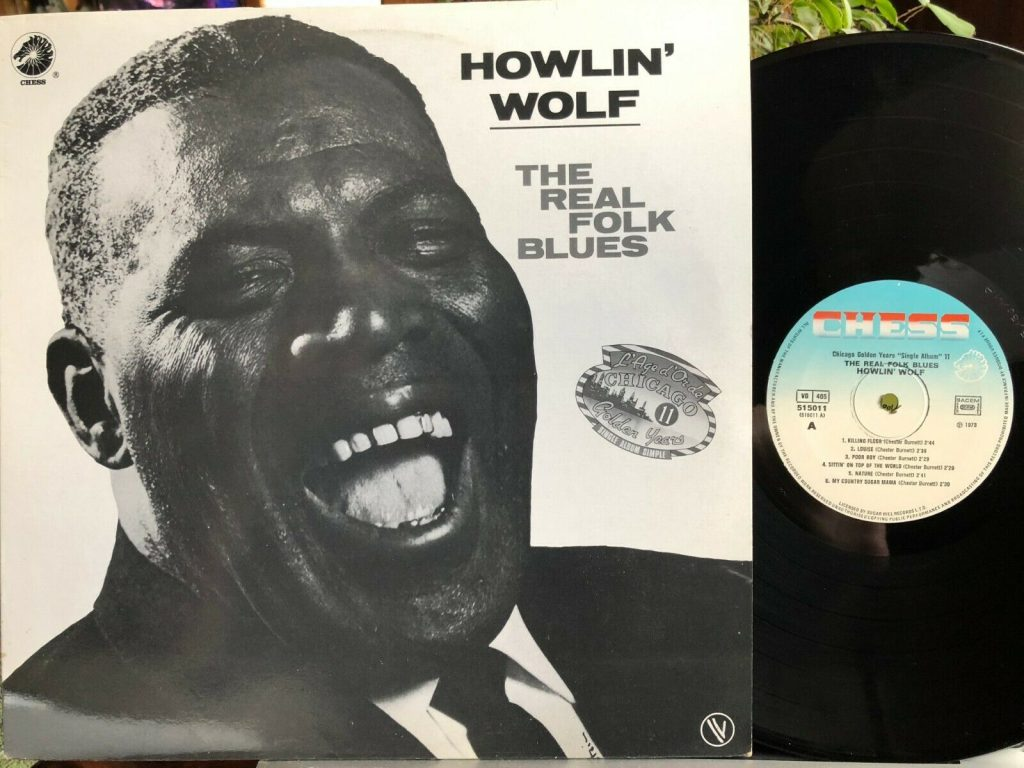 Howlin Wolf Real Folk Blues Lp