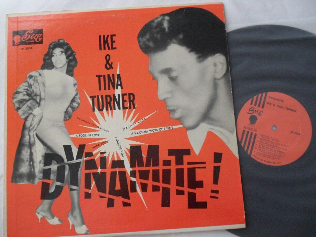 Ike Tina Turner Lp Vinyl Dynamite