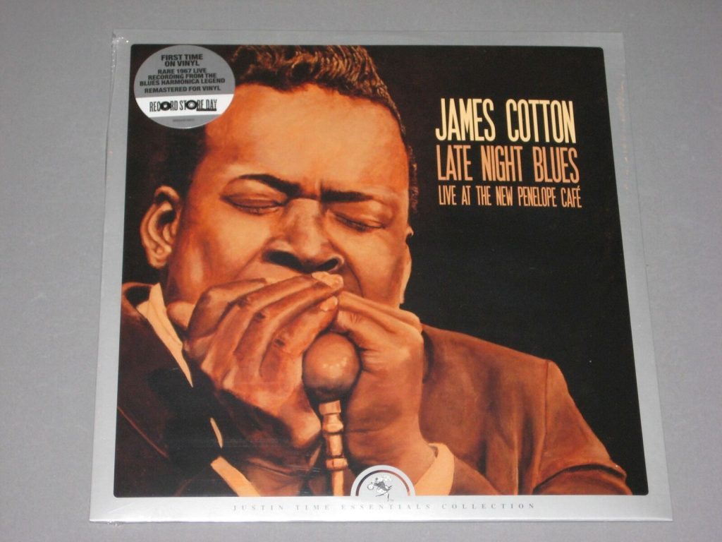 James Cotton Late Night Blues Penelope Cafe Lp Vinyl