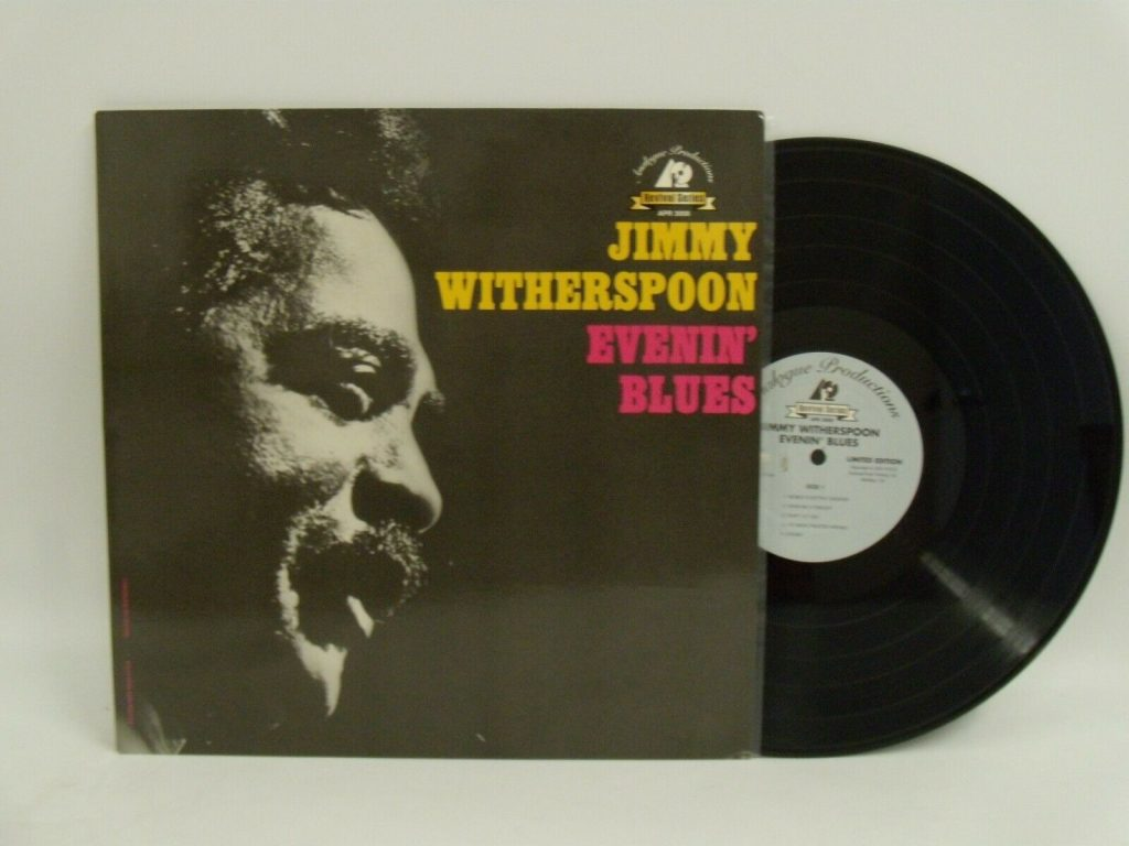 Jimmy Witherspoon Evenin Blues Lp Vinyl