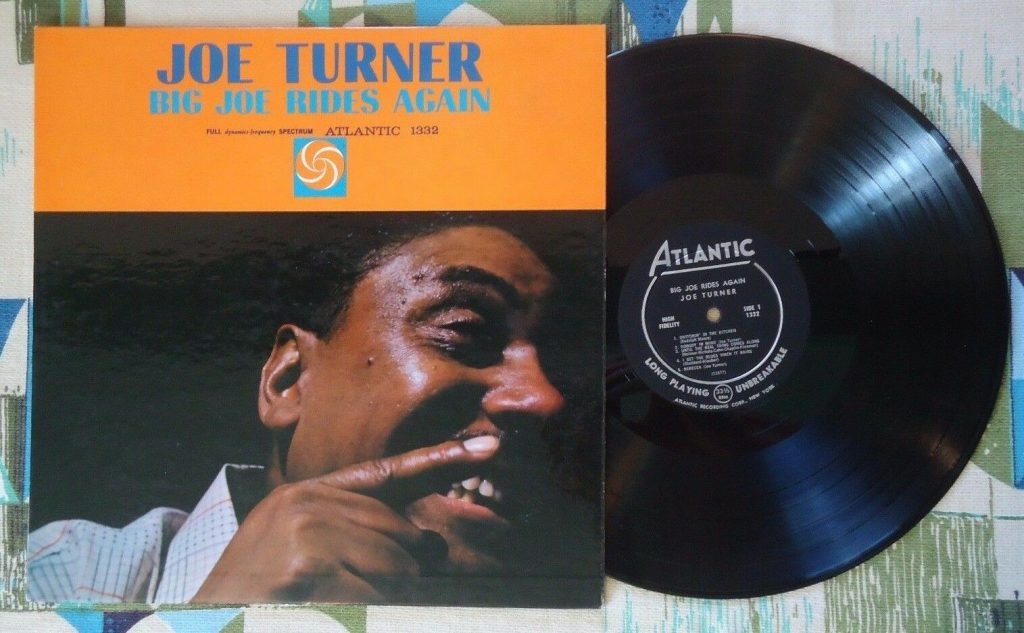 Big Joe Turner Big Joe Rides Again Lp