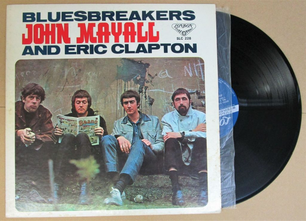 Blues Breakers Eric Clapton Mayall Vinyl Lp