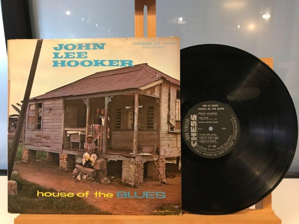 John Lee Hooker House Blues Lp Vinyl