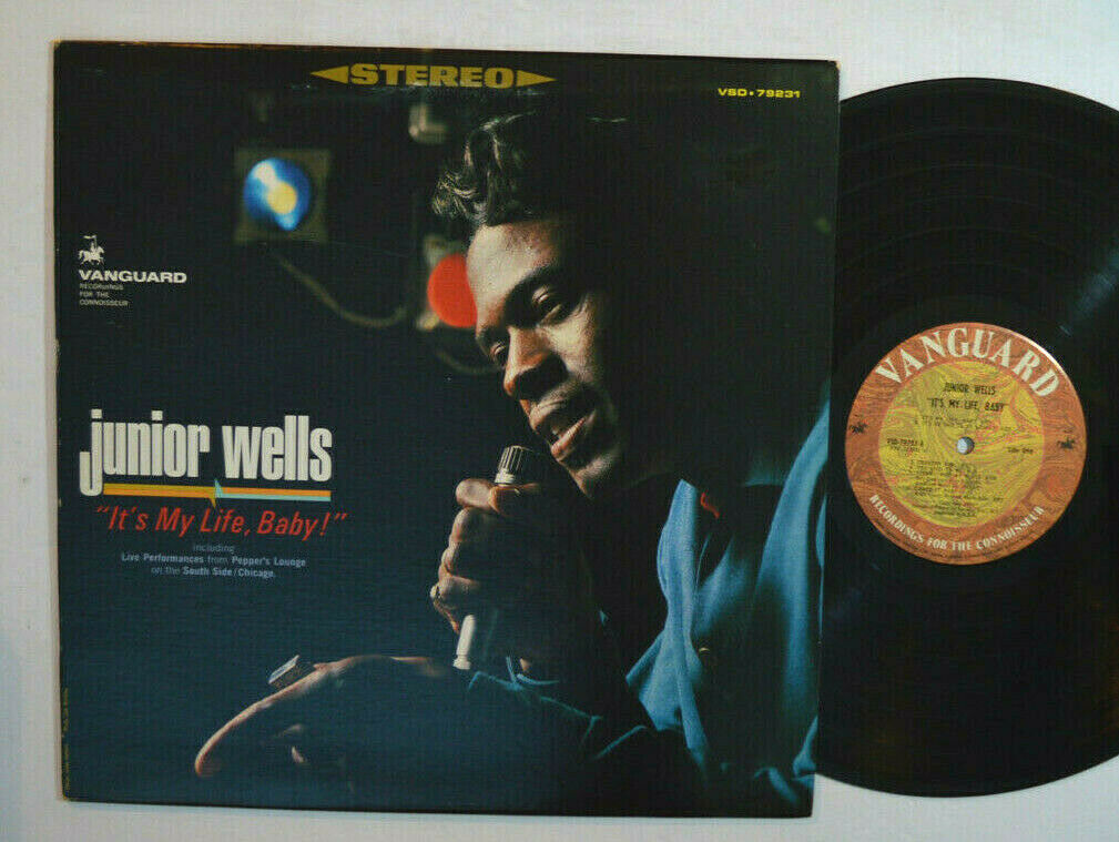Junior Wells Vinyl Lp My Life Baby