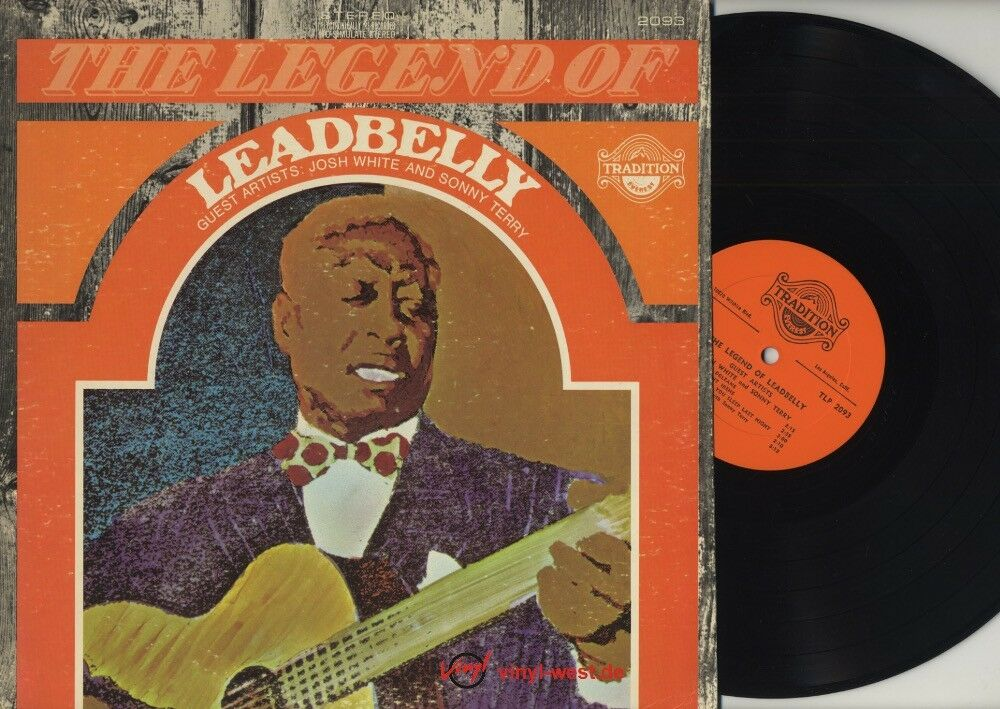 Leadbelly Folkways Vinyl Lp Record