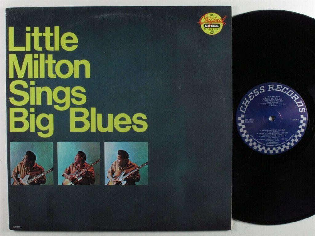 Little Milton Sings Big Blues Lp Vinyl Chess