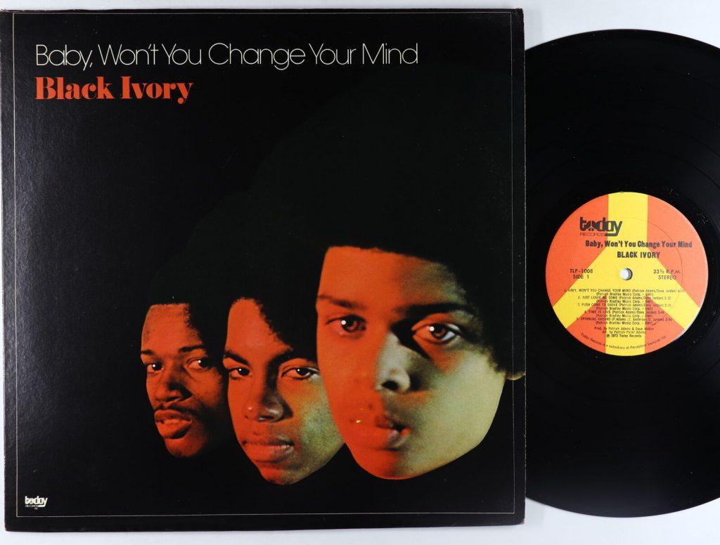 Black Ivory Baby Change Mind Vinyl Lp