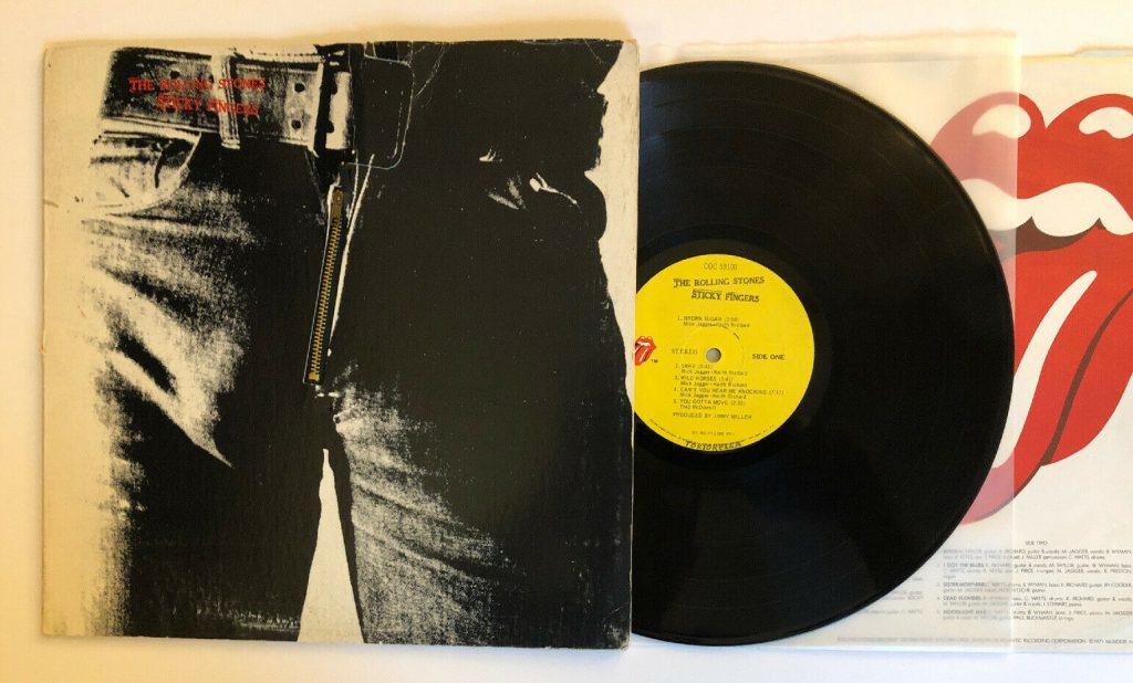 Rolling Stones Sticky Fingers Vinyl Lp