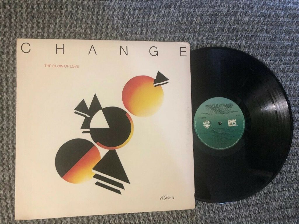 Change Glow Love Lp Disco Vinyl