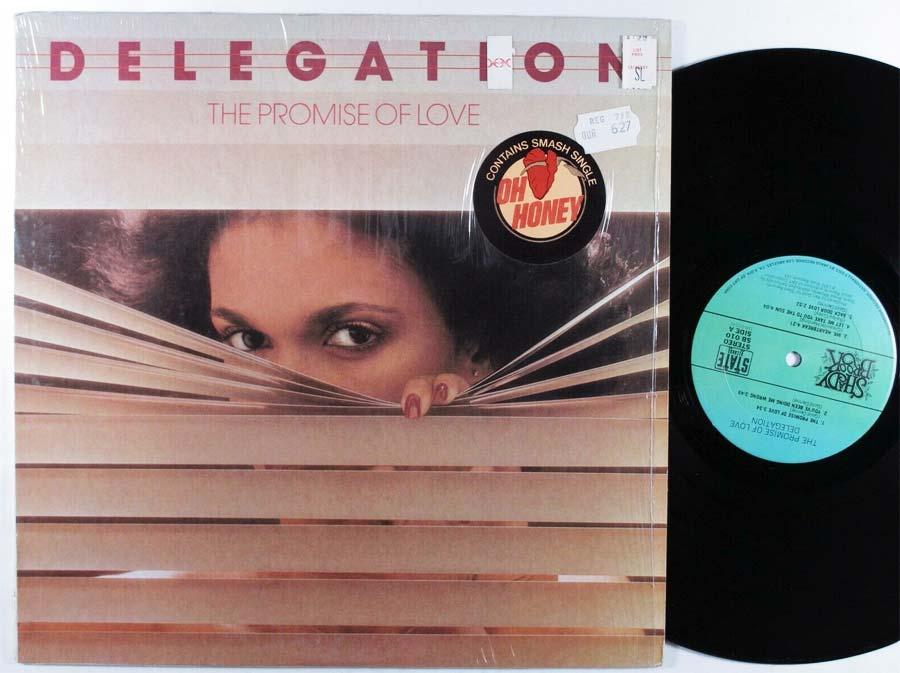 Delegation Promise Love Vinyl Lp