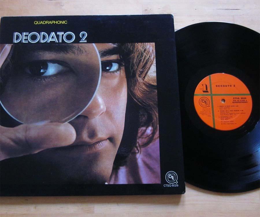 Eumir Deodato Lp Vinyl Album