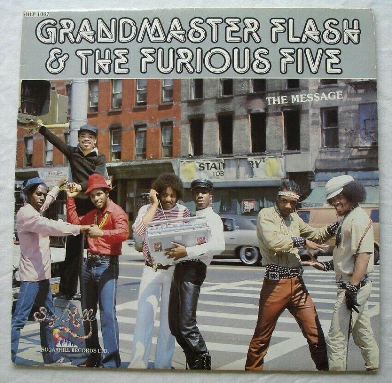 Grandmaster Flash Vinyl Records Lps For Sale