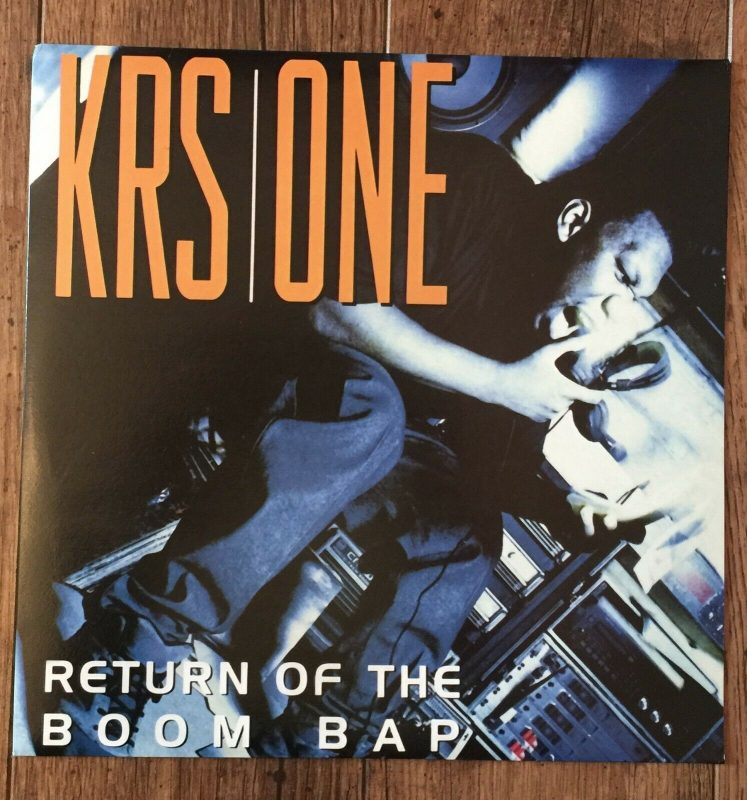 KRS One Vinyl Records Lps For Sale