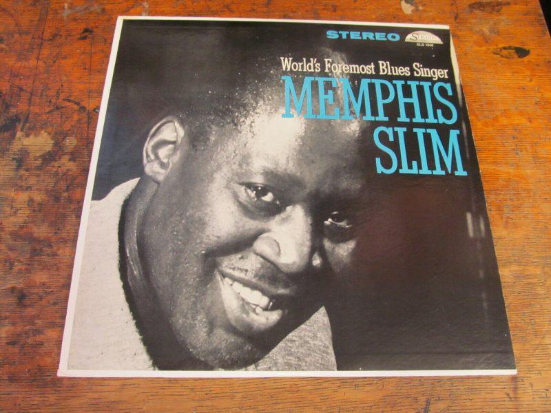 MEMPHIS SLIM Foremost Blues Singer LP STRAND Stereo DG ORIG VG