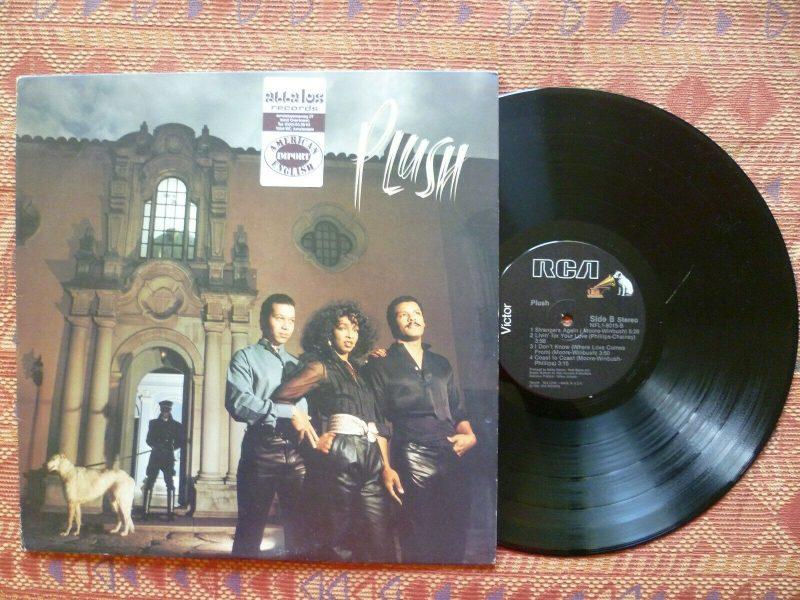 Plush Vinyl Records Lps For Sale