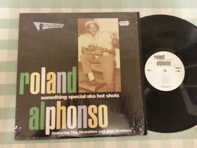 Roland Alphonso Vinyl Lps