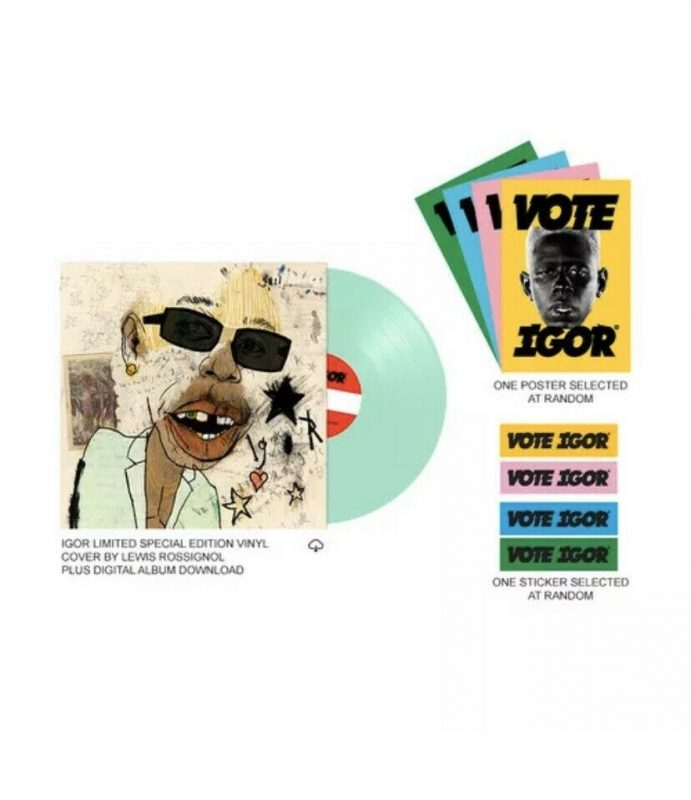 Tyler The Creator Vinyl Records Lps For Sale