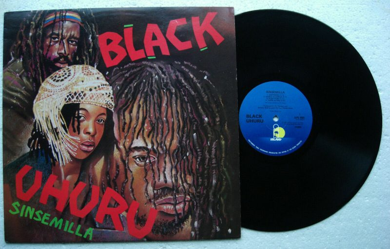 Black Uhuru Vinyl Lp Sinsemilla