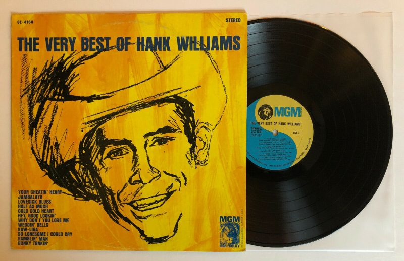 Hank Williams Vinyl Lp