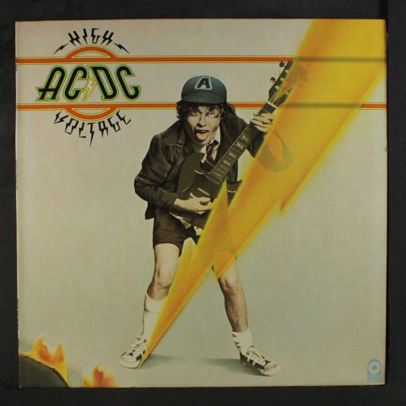 AC DC Vinyl Record Lps For Sale