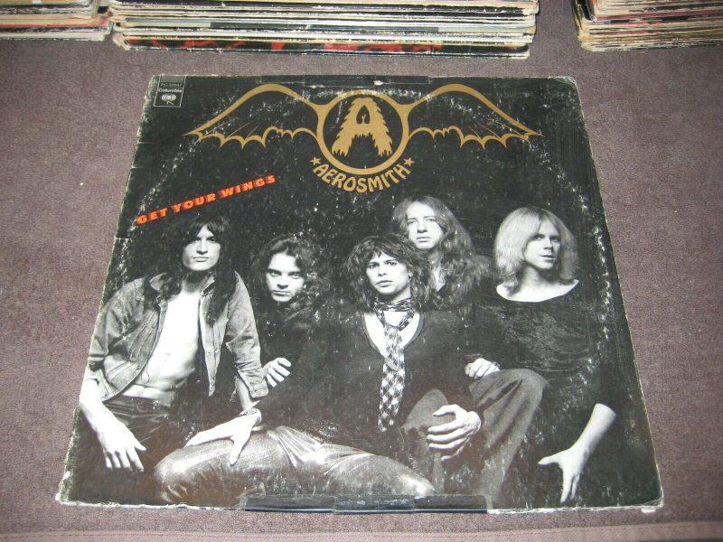 Aerosmith Vinyl Record Lps For Sale