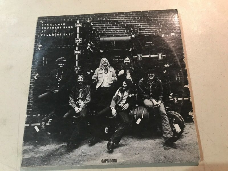 Allman Brothers Vinyl Record Lps For Sale