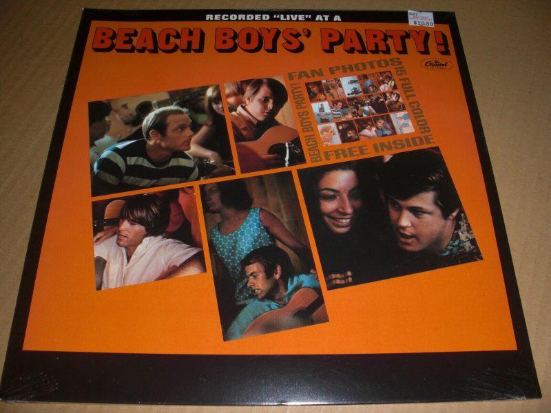 Beach Boys Vinyl Record Lps For Sale