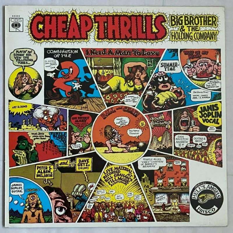 Big Brother & The Holding Company Vinyl Record Lps For Sale