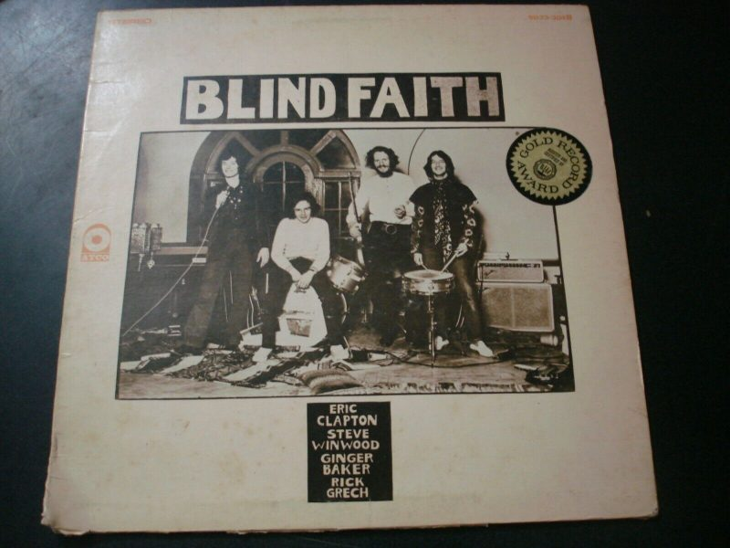 Blind Faith Vinyl Record Lps For Sale