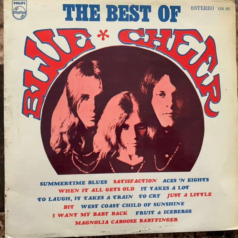 Blue Cheer Vinyl Record Lps For Sale
