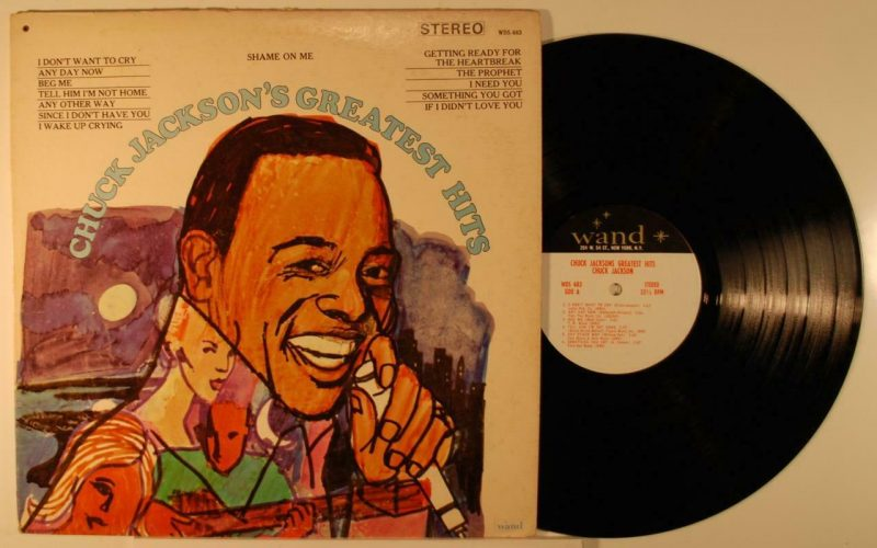 Chuck Jackson Vinyl Record Lps For Sale