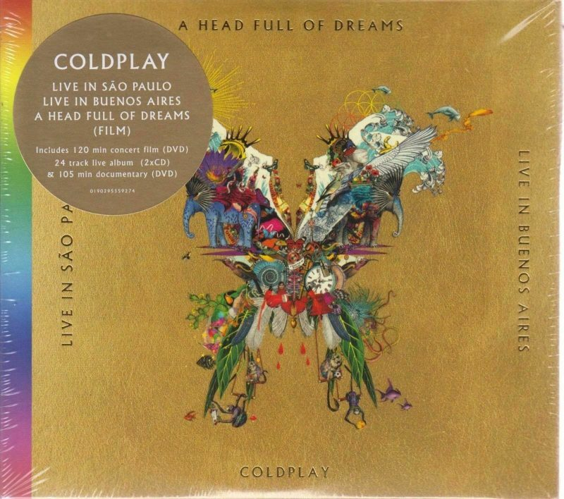 Coldplay Vinyl Record Lps For Sale