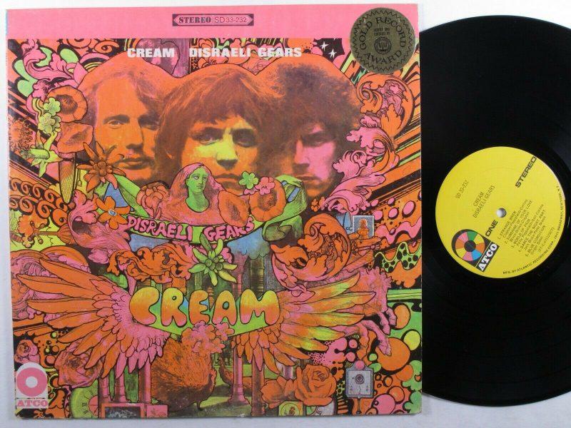Cream Vinyl Record Lps For Sale