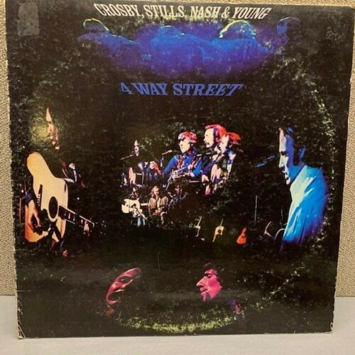 Crosby, Stills, Nash & Young Vinyl Record Lps For Sale