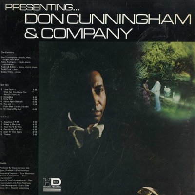Don Cunningham Vinyl Records Lps For Sale