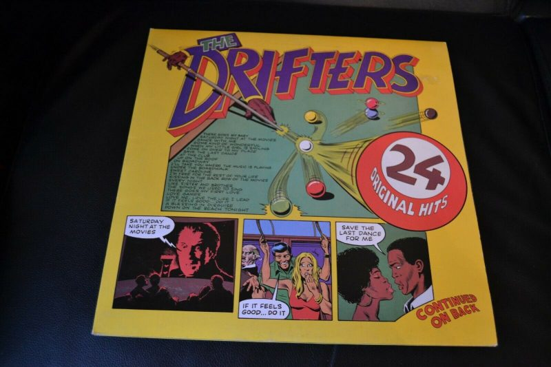 Drifters Vinyl Record Lps For Sale