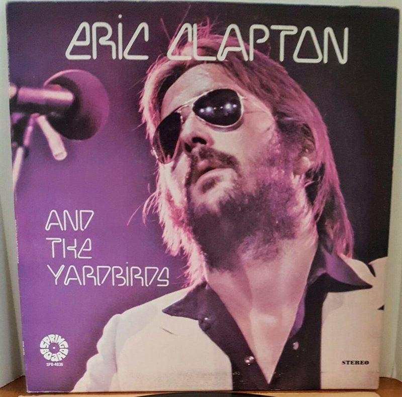 Eric Clapton Vinyl Record Lps For Sale