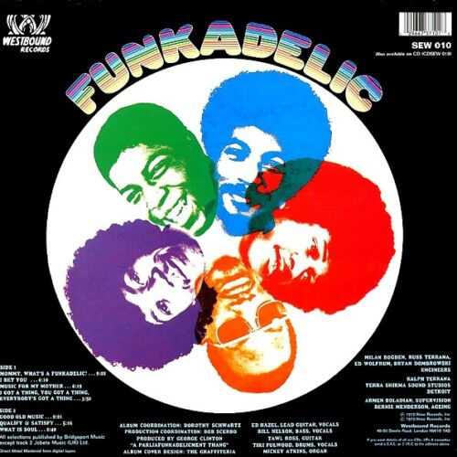 Funkadelic Vinyl Record Lps For Sale