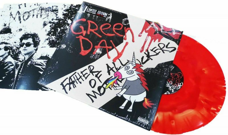 Green Day Vinyl Record Lps For Sale