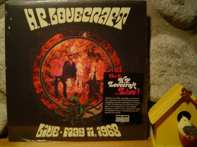 H.P. Lovecraft Vinyl Record Lps For Sale