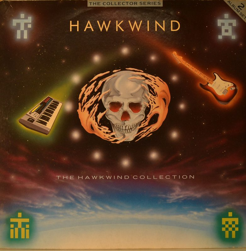 Hawkwind Vinyl Record Lps For Sale